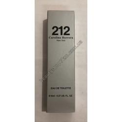 N41 Ручка духи 212 Carolina Herrera New York 8 ml