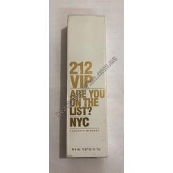 N42 Ручка духи 212 VIP ARE YOU ON THE LIST? NYC Carolina Herrera 8 ml