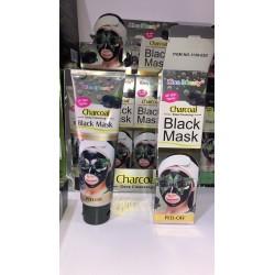 Чёрная маска Charcoal (уголь) (120ml.)